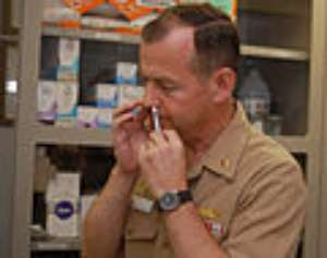 Military Prepping Troops With Anti Suicide Nasal Spray. WHY??