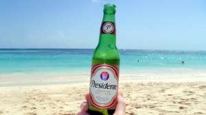 Dominican Republic Presidente Beer