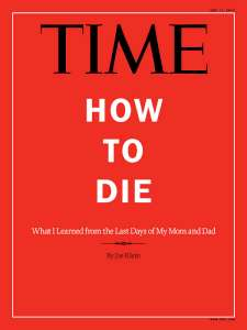 TIME Magazine June 2012 HOW TO DIE