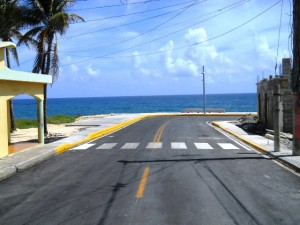 Welcome to Cabrera's New Malecon. A beautiful boulevard by the sea!!!