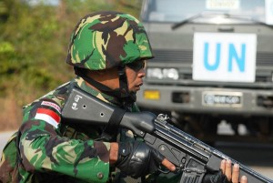 Finally Indonesia, Never messed with their land right??? And the U.N. may be giving all of them the right to use FORCE!! against you!!! Good luck!