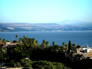 Sea of Galilee. An excellent example life. Greed by wanting everything BUT the willingness to share it all with everything surrounding itself.