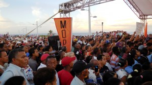 The Streets Were Packed With The People of Cabrera