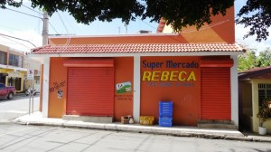 Both of Rebeca's Stores were closed.