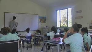 Faro De Cabrera International School Classroom