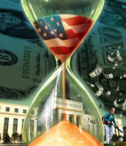 Time may be running out for the nation in many ways but as far as the dollar goes still got some sand left in the hour glass. Still there's no viable replacement.