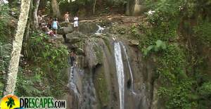 Cabrera Dominican Republic Waterfall