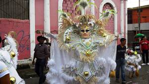 Carnival brings elaborate costumes and outlandish masks