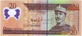 20 Pesos NOTE!!! Printed 2014