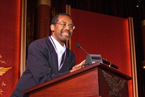 Dr. Benjamin Carson addresses the 2007 International Achievement Summit in Washington, D.C. (Academy of Achievement)