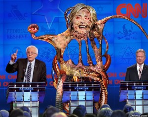 Tierd of the squid. Don't worry Bernie or the Donald will make it all better. Muffins baking in an over.