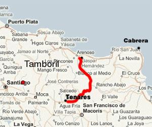Gaspar Hernandez to Tenares