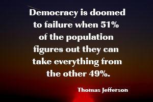 Democracy Is Doomed Thomas Jefferson
