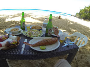 Nothing Better Than Fresh Fish Dinner On The Beach