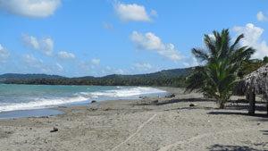 Beach Near Cabrera Dominican Republic