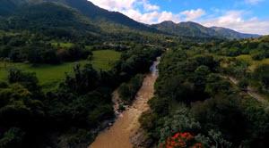 Jarabacoa River From Above