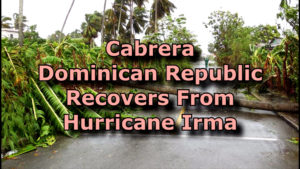 Hurricane Irma Leaves Cabrera With Some Cleanup