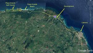 Cabrera Ocean View Property Map