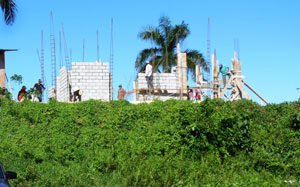 New Homes Going Up At Mantana y Mar In Cabrera Dominican Republic